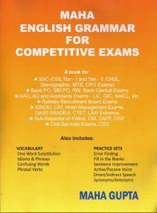 Maha English Grammar for Competitive Exams